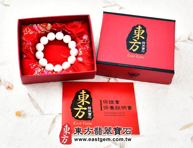 白硨磲天然玉石珠串手鍊出貨照片 白硨磲手鍊(白硨磲珠子、白車渠珠子,珠徑約8mm,WCG012)。客製化設計各種白硨磲珠串、白硨磲珠子、白硨磲手鍊、白硨磲手珠。★附東方翡翠寶石保證卡