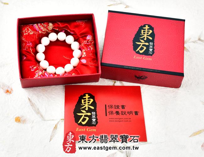 白硨磲天然玉石珠串手鍊出貨照片 白硨磲手鍊(白硨磲珠子、白車渠珠子,珠徑約8mm,WCG013)。客製化設計各種白硨磲珠串、白硨磲珠子、白硨磲手鍊、白硨磲手珠。★附東方翡翠寶石保證卡