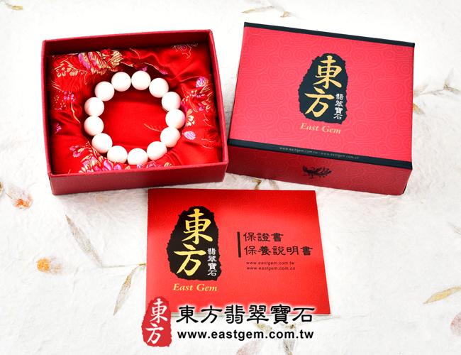 白硨磲天然玉石珠串手鍊出貨照片 白硨磲手鍊(白硨磲珠子、白車渠珠子,珠徑約8mm,WCG014)。客製化設計各種白硨磲珠串、白硨磲珠子、白硨磲手鍊、白硨磲手珠。★附東方翡翠寶石保證卡