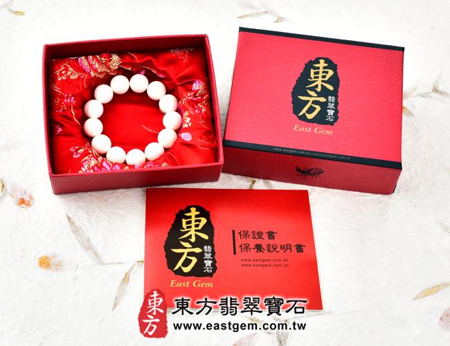白硨磲天然玉石珠串手鍊  出貨照片  白硨磲手鍊(白硨磲珠子,珠徑約8mm,WCG016)。客製化設計各種白硨磲珠串、白硨磲珠子、白硨磲手鍊、白硨磲手珠。★附東方翡翠寶石保證卡