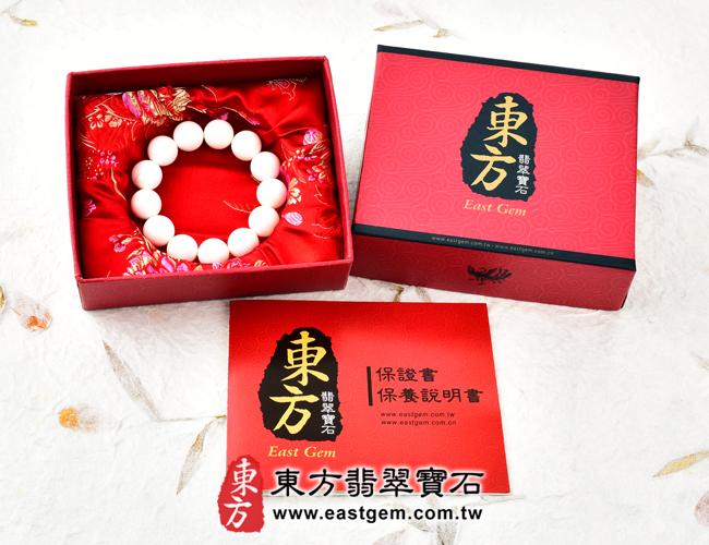 白硨磲天然玉石珠串手鍊出貨照片  白硨磲手鍊(白硨磲珠子、白車渠珠子,珠徑約8mm,WCG021)。客製化設計各種白硨磲珠串、白硨磲珠子、白硨磲手鍊、白硨磲手珠。★附東方翡翠寶石保證卡