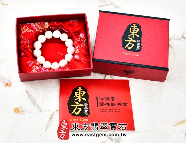 白硨磲天然玉石珠串手鍊出貨照片 白硨磲手鍊(白硨磲珠子、白車渠珠子,珠徑約8mm,WCG022)。客製化設計各種白硨磲珠串、白硨磲珠子、白硨磲手鍊、白硨磲手珠。★附東方翡翠寶石保證卡