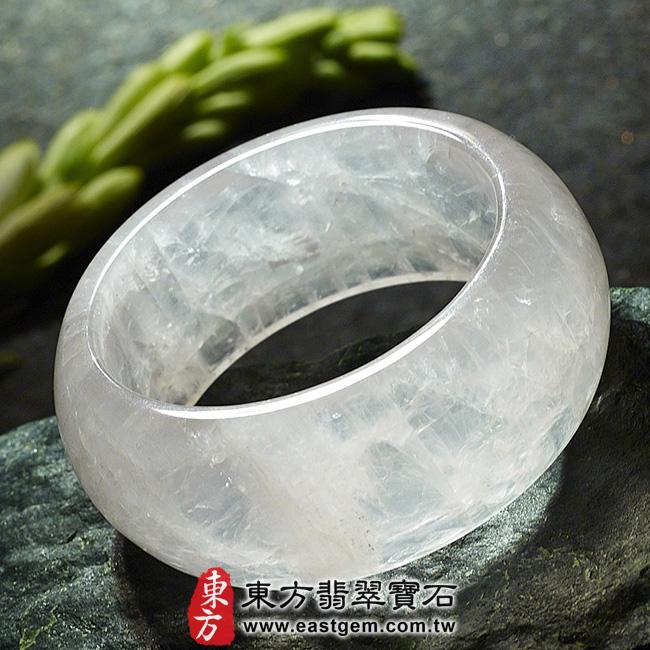 冰種粉晶天然手鐲玉鐲平面照片 冰種粉晶手鐲、粉晶手鐲。(粉色,半透光,圓鐲17.5,PI008)。客製化訂做各種冰種粉晶手鐲、粉晶手鐲。★附東方翡翠寶石雙證書