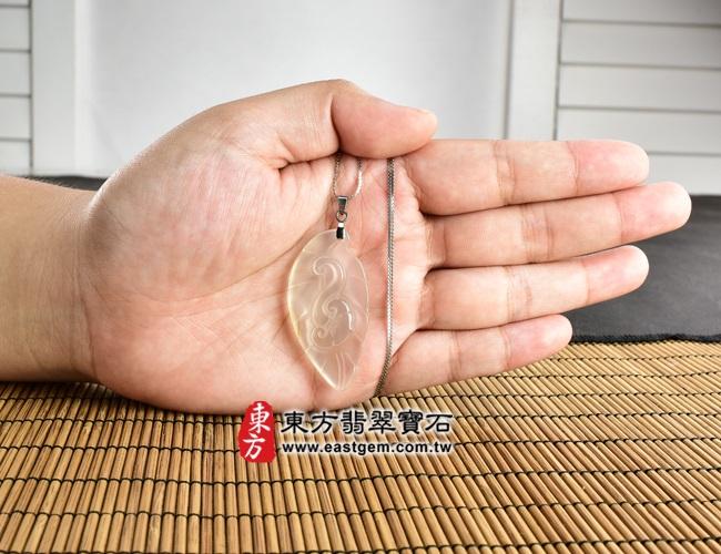 一夜致富 大小示意照片 瑪瑙如意項鍊玉珮(一夜致富:如意牌瑪瑙如意玉珮、玉髓如意玉墜)。黃色天然瑪瑙玉髓如意,LU305。客製化訂做各種瑪瑙玉髓如意吊墜玉珮項鍊。★附東方翡翠寶石保證卡
